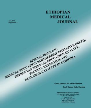 View Vol. 53 (2015): Sup.2: Special Issue on MEPI: Improving Medical Education Quality, Faculty Retention and Research Capacity in Ethiopia