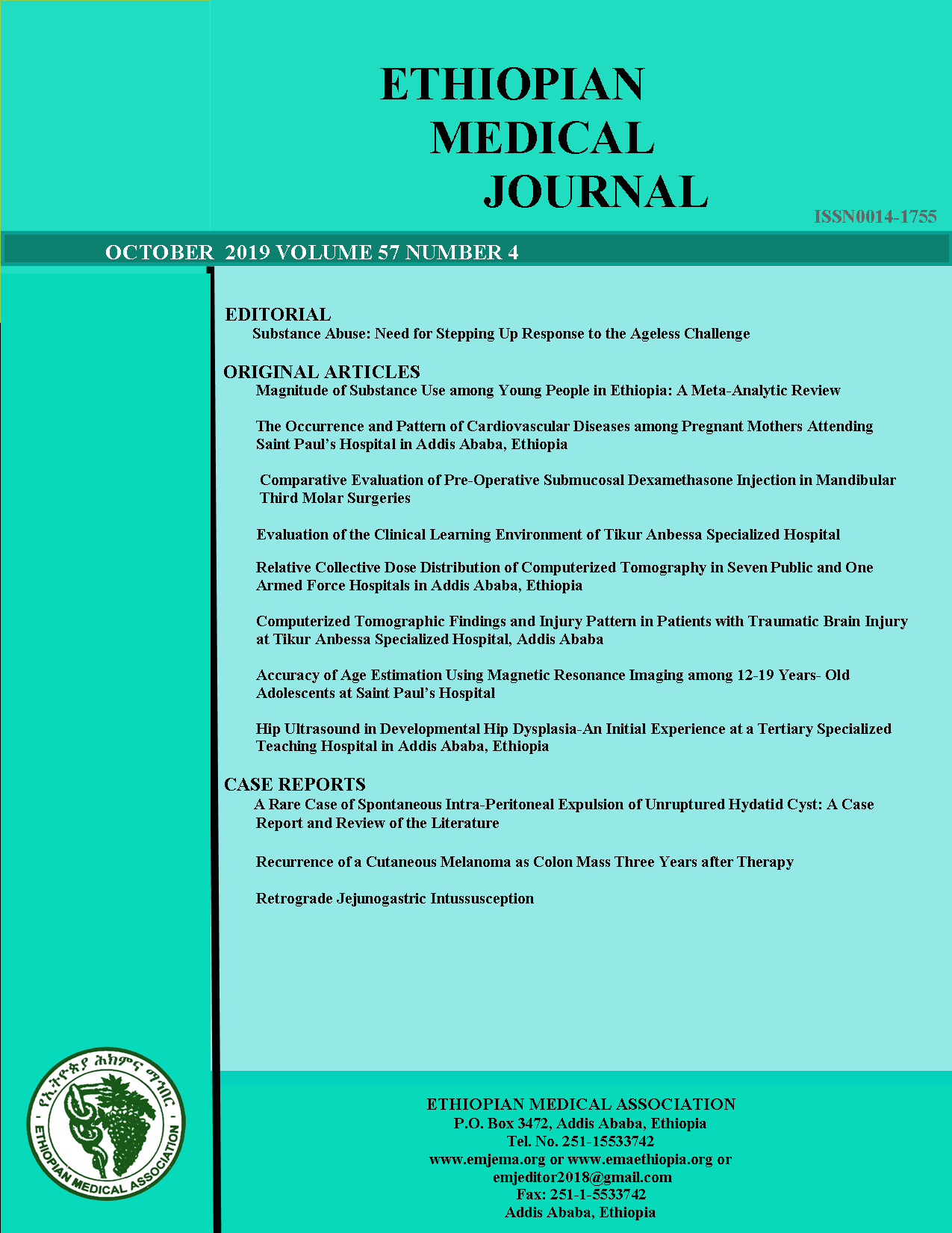 View Vol. 57 No. 4 (2019): EMJ October 2019 Issue